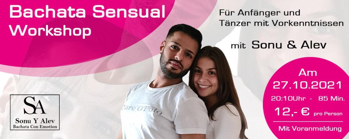 Workshop Bachata Sensual am 27.10.2021